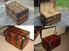 civil war trunks | ... website, I finallyrefinished my first trunk (first photo, above