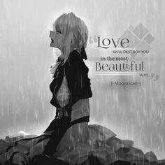 The Effective Pictures We Offer You About triste dessin personne A quality picture can tell you many Sad Anime Quotes, Manga Quotes, Me Anime, Anime Love, Anime Violet Evergarden, Violet Evergreen, Johny Depp, Sad Art, Dark Quotes