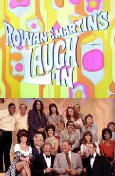 Rowan & Martin's Laugh In: Never missed it; I think it was on at 8 every Monday night