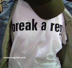 break a reg