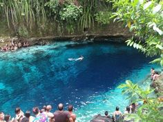 the enchanted river   Enchanted River Philippines (bottom less river noone has touched the bottom!)