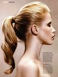 Lovely Ponytail Hairstyles for Curly Hair - Styles Weekly Ponytail Hairstyles, Pretty Hairstyles, Wedding Hairstyles, 2017 Hairstyle, Hairstyle Pics, Beach Hairstyles, Hairstyles Pictures, Men's Hairstyle, Everyday Hairstyles