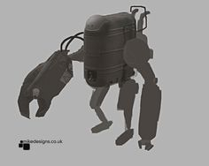 Concept sketch for a new bot design being worked on.