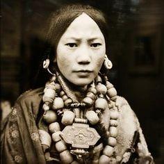 30年代藏族贵族 摄影师:庄学本