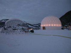 Cupola geodetica, adatta per tutte le condizioni #meteo! #LerianSrl