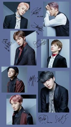 Because any official BTS fan page has to be signed by BTS themselves, right?<< I love Taehyung's signature 🦋 Namjoon, Bts Taehyung, Bts Bangtan Boy, Bts Jimin, Seokjin, Bts Lockscreen, Foto Bts, K Pop, Bts Group Photos