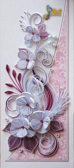Quilling card - ( 10.5 cm - 15 cm ) | neli | Bloglovin'