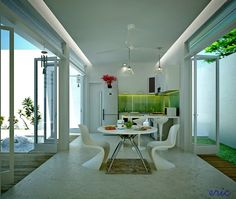 White+Decor+Dining+Areas