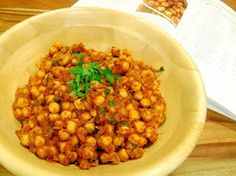 Pan Chancho Moroccan Chickpea Salad with Mint