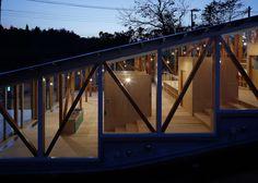 Japanese kindergarten designed as a large set of steps