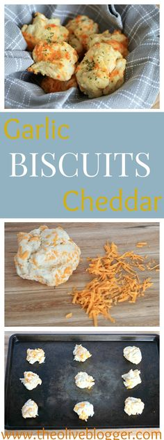 Garlic Cheddar Biscuits- Red Lobster Copycat! These biscuits are loaded with so much cheese and delicious garlic that everyone will be reaching for a second or third one to go with dinner tonight.