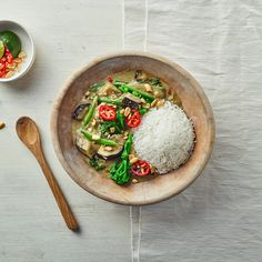 Thai Green Vegetable Curry With Lime  Recipe   Gousto