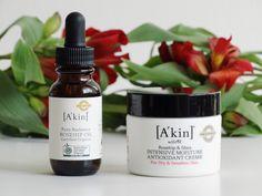 Natural, vegan & cruelty free skincare. A'Kin organic rosehip oil & moisturiser.