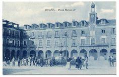 https://flic.kr/p/RKdndN | Ocaña, Plaza Mayor | Título: Ocaña, Plaza Mayor  Editorial: [S.l. : s.n., entre 1910 y 1920] Descripción física: 1 fot.(tarjeta postal) : cianotipo ; 9x14 cm. Signatura: POS 4429