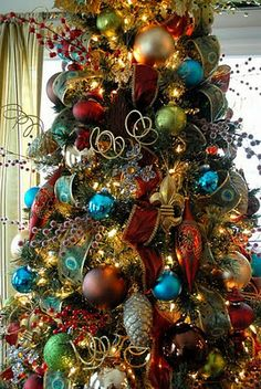 Christmas Tree Jewel Decorations