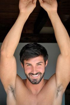 beard smiling man next door clean cut armpit hair gay interest handsome young man muscle jock underarm heaven