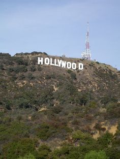 Hey look it's the Hollywood sign!! Download this royalty-free image on morguefile.com.