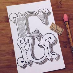 """""""Finalmente voltei! Letra E, quem aí é? . ________ Estou ilustrando um alfabeto. Vou fazer uma letra por vez. Em tempo real vou estar lá no snap…"""""""