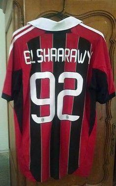 El-Shaarawy 92 AC Milan Jersey Soccer Football 2011 2012 Home sz M-L