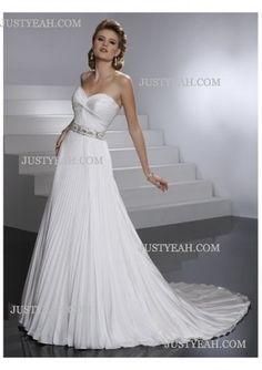 A-line sumptuous formal Wedding Dresses