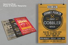 Opening Shop Flyer & Poster Template - Flyers - 3