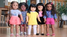 To start off the #agigdocchallenge, I'm posting a photo of all my docs!! I took this photo while taking a photo of all 8 of my dolls, since they were all already set up anyways. I can't wait to see all the photos people post this week!!
