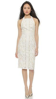 Lover Poppy Halter Midi Dress