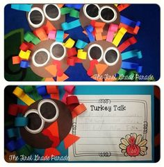 The First Grade Parade  turkeys