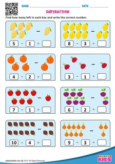 Free printable math subtraction worksheets for kindergarten. Kids will be able to 𝐟𝐢𝐧𝐝 𝐨𝐮𝐭 𝐡𝐨𝐰 𝐦𝐚𝐧𝐲 𝐥𝐞𝐟𝐭 𝐢𝐧 𝐞𝐚𝐜𝐡 𝐛𝐨𝐱 𝐚𝐧𝐝 𝐰𝐫𝐢𝐭𝐞 𝐭𝐡𝐞 𝐜𝐨𝐫𝐫𝐞𝐜𝐭 𝐧𝐮𝐦𝐛𝐞𝐫. Math Subtraction Worksheets, Math Addition Worksheets, Subtraction Kindergarten, Free Kindergarten Worksheets, Preschool Learning Activities, Preschool Math, Fun Worksheets For Kids, Math For Kids, Free Printable