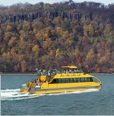 New York Water Taxi boasts spectacular autumn day trips.