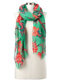 Floral scarf | Gap