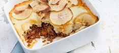 jachtschotel met gehakt Oven Recipes, Dinner Recipes, Cooking Recipes, Happy Foods, Kefir, Healthy Cooking, Good Food, Easy Meals, Beef