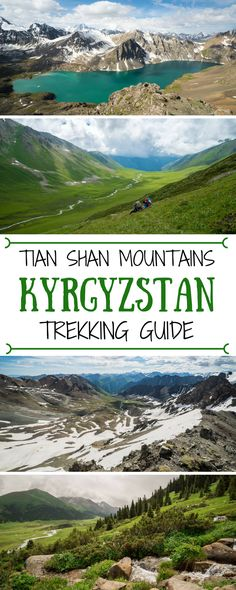 A guide to trekking in Kyrgyzstan's Tian Shan Mountains.  This 8-day trek takes you through scenic mountain passes and leads to one of the region's most famous (and beautiful) lakes. Travel in Central Asia. || Be My Travel Muse