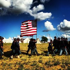 I thought I loved America, these guys take it to a whole new level. #gettysburg #civilwar