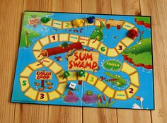 Today I present you a fun game of initiation to addition and subtraction: Sum Swamp. It is a recommended game from 5 years but it allows people of all ages to play. This is a very interesting proposal to work: the count, . Montessori Math, Addition And Subtraction, Fun Games, Presents, Kids Rugs, Learning, Moma, 5 Years, Play
