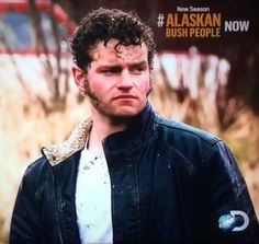 Wow wouldn't you like this man to protect you. Gabe Brown. Alaskan Bush People❤