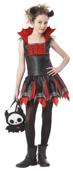 California Costumes Miss Reaper Tween Costume, Large * To view