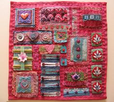 Art Quilt tutorial by Beryl Taylor and Rit Dye..........love!