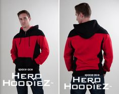 Star Trek uniform hoodies. #star trek #geek fashion so perfect for Brando