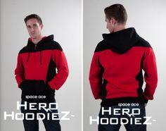 Star Trek uniform hoodies. #star trek #geek fashion