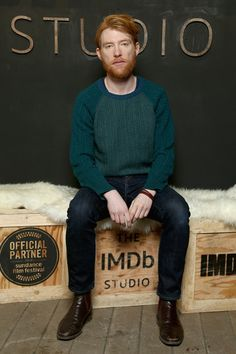 Domhnall Gleeson Photos - Actor Domhnall Gleeson of 'A Futile and Stupid Gesture' attends The IMDb Studio and The IMDb Show on Location at The Sundance Film Festival on January 22, 2018 in Park City, Utah. - The IMDb Studio At The 2018 Sundance Film Festival - Day 4