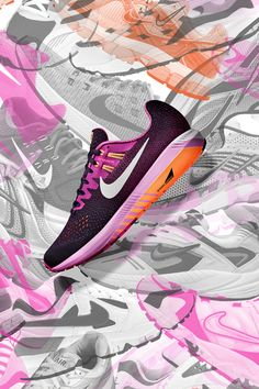Upgrade your Air. The new NikeWomen Air Zoom Structure 20 keeps key details of the 19, with more dynamic support in the sole for a smooth, stable run.