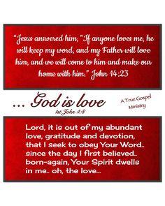Do you love Him? Keep His Word.. #atruegospelministry
