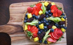 Summer Fruit Tart With Creamy Cashew Filling [Vegan, Gluten-Free] | One Green Planet