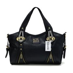 #CheapCoach #Coach #CoachBags Coach In Embossed Medium Black Totes DFX Outlet Sale the Most Fashion Welcome
