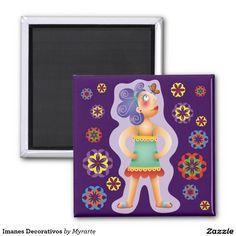 Decorative magnets, home decor, decoración. Producto disponible en tienda Zazzle. Decoración para el hogar. Product available in Zazzle store. Home decoration. Regalos, Gifts. Link to product: http://www.zazzle.com/decorative_magnets-147991885035288318?CMPN=shareicon&lang=en&social=true&rf=238167879144476949 #imanes #magnets