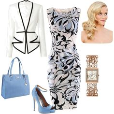 Pretty work outfit - Polyvore