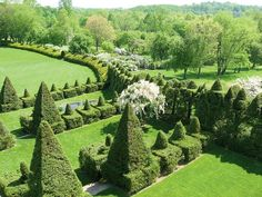 Ornamental shurbs are scattered across 22 acres in Monkton, Maryland. Photograph courtesy of Ladew Topiary Gardens.