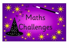 Maths Challenges EYFS Landscape A4 H Early Years (EYFS), KS1, KS2, Primary & Secondary School teaching help, ideas and free teaching resources for the classroom. We love sharing free teaching resources!