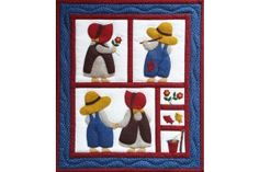 Sue & Sam Small Wall Quilt Kit